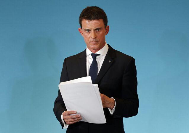 Francouzský ministerský předseda Manuel Valls