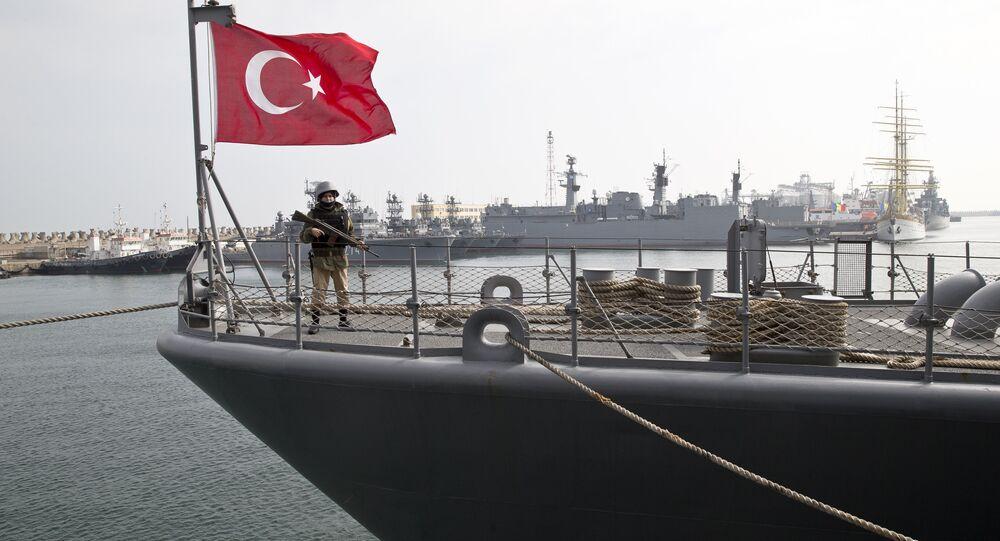 Turecká loď, Černé moře