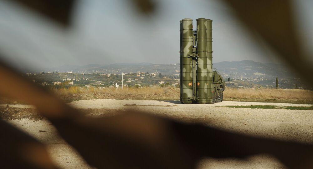 S-400 v Sýrii