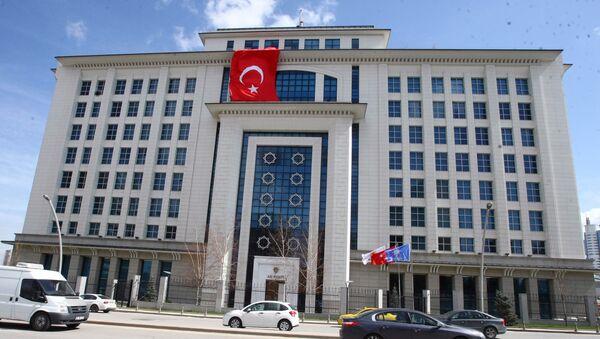 Sídlo vládnoucí strany Turecka - Sputnik Česká republika