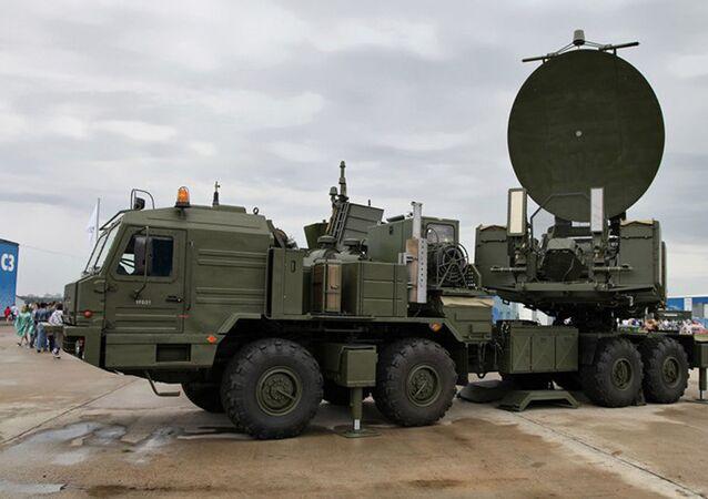Sýstem radioelektronického boje (REB) Krasucha-2