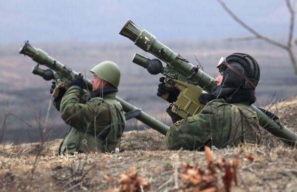 Černá smrt – ruská námořní pěchota - Sputnik Česká republika