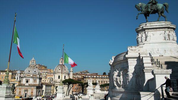 Benátské náměstí v Římě - Sputnik Česká republika