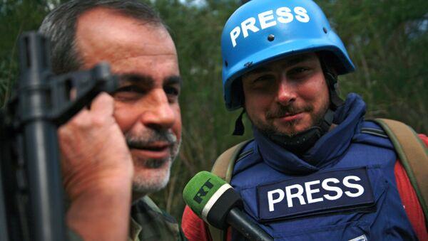 Sargon Hadaja, zpravodaj RT - Sputnik Česká republika
