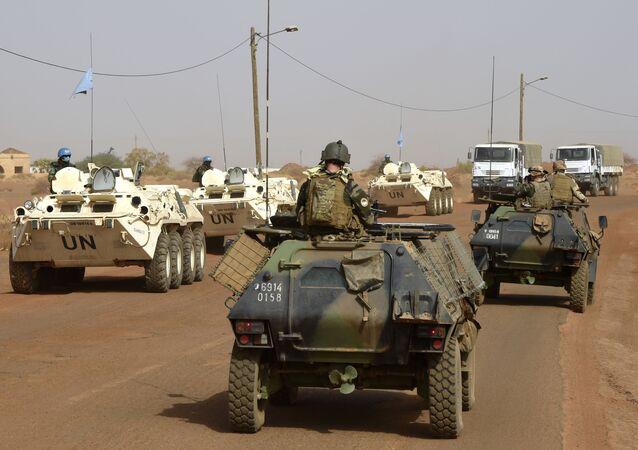 Mírové síly OSN v Mali