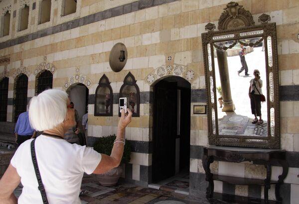 Prohlídka paláce Al-Azem v Damašku. - Sputnik Česká republika