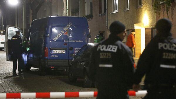 Policie v Berlíně - Sputnik Česká republika