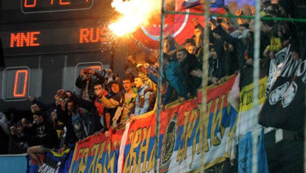 Ruští fanoušci - Sputnik Česká republika