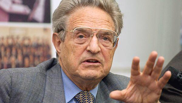George Soros, americký multimiliardář - Sputnik Česká republika