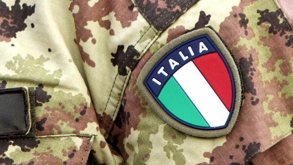 Italští dobrovolníci bojují na straně domobranců v Donbasu - Sputnik Česká republika