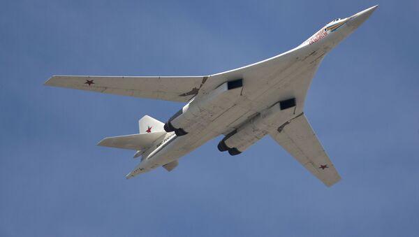 Strategický bombardér Tu-160 - Sputnik Česká republika