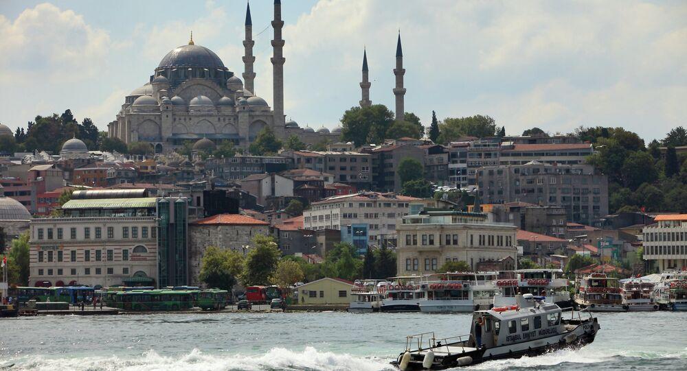 Istanbul. Průliv Bospor