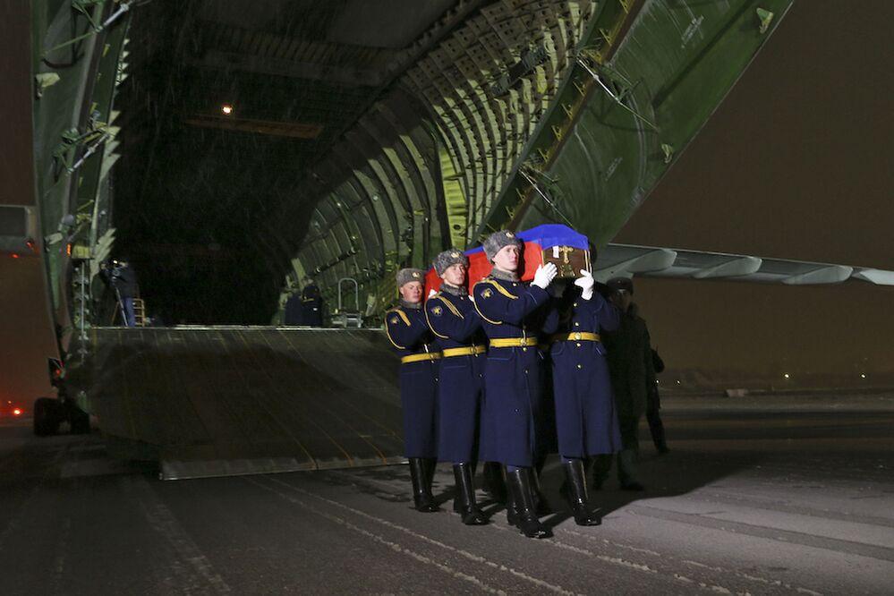 Poslední let Olega Peškova