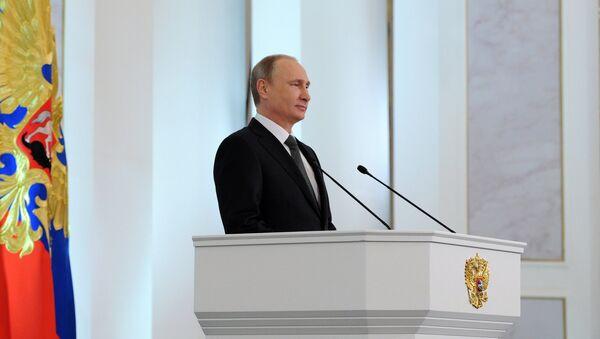 Poselství Putina Federálnímu shromáždění - Sputnik Česká republika