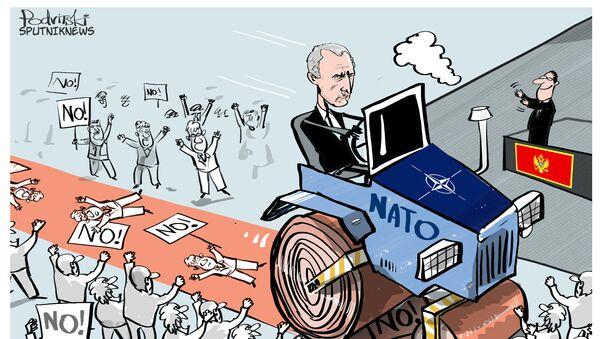 NATO vstupuje do Černé Hory - Sputnik Česká republika