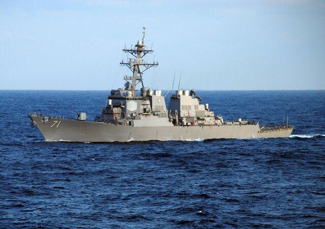 Americký torpédoborec Ross. Ilustrační foto