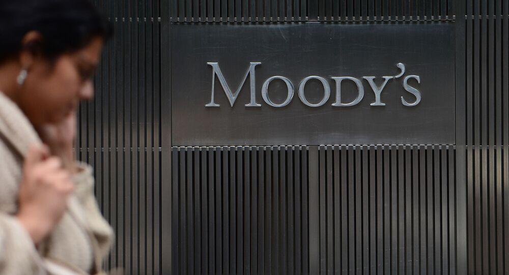Logo agentury Moody's