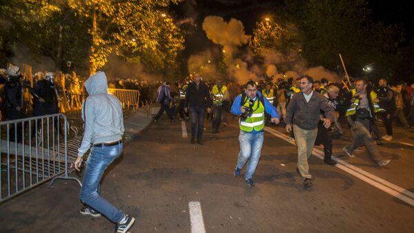 Nepokoje v Černé Hoře - Sputnik Česká republika
