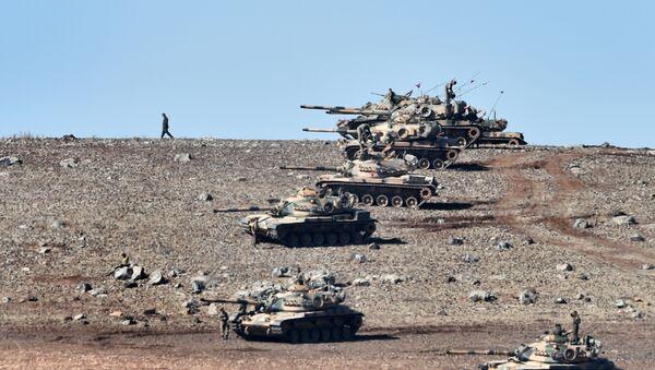 Turecké tanky - Sputnik Česká republika