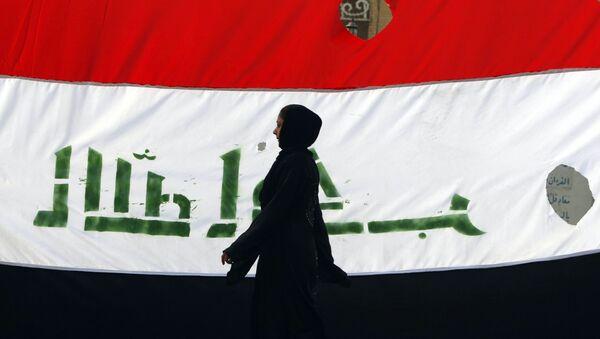 Irácká vlajka - Sputnik Česká republika