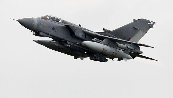 Britské letadlo Tornado - Sputnik Česká republika