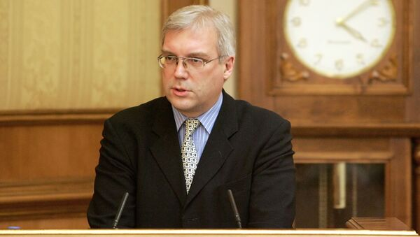 Vyslanec Ruska při NATO Alexandr Gruško - Sputnik Česká republika