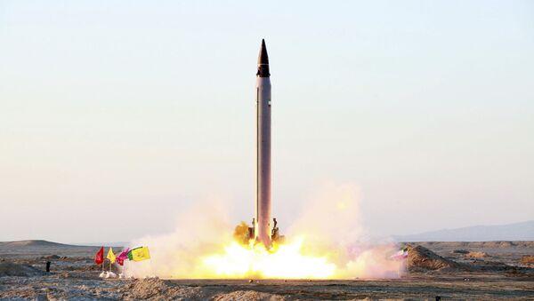 Íránská balistická raketa Emad - Sputnik Česká republika