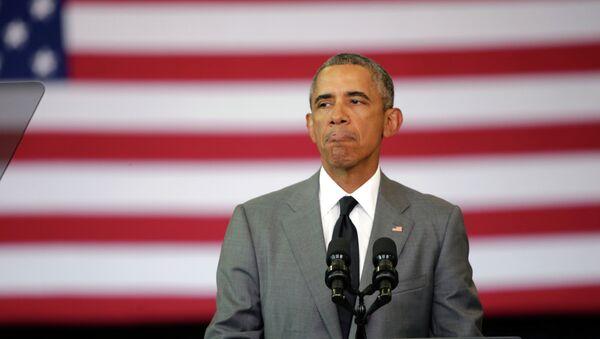 US President Barack Obama - Sputnik Česká republika