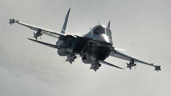 V roce 1994 vzlétl první sériový Su-34 z letiště Novosibirského závodu - Sputnik Česká republika