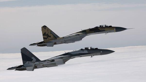 Rusko a Čína podepsaly smlouvu na dodávku do ČLR 24 stíhaček Su-35 za částku větší než 2 miliardy dolarů - Sputnik Česká republika