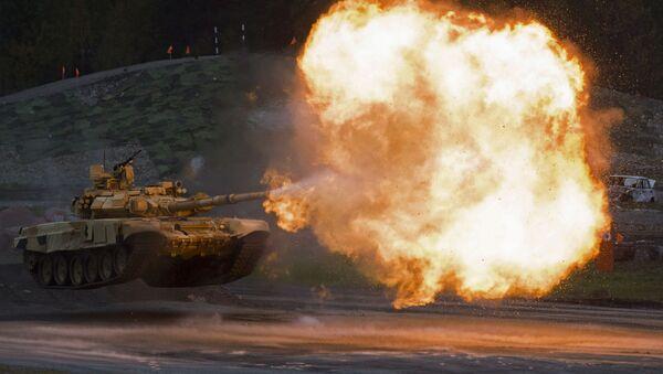 Tank T-90A na výstavě Russia Arms Expo - Sputnik Česká republika