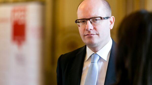 Předseda české vlády Bohuslav Sobotka - Sputnik Česká republika