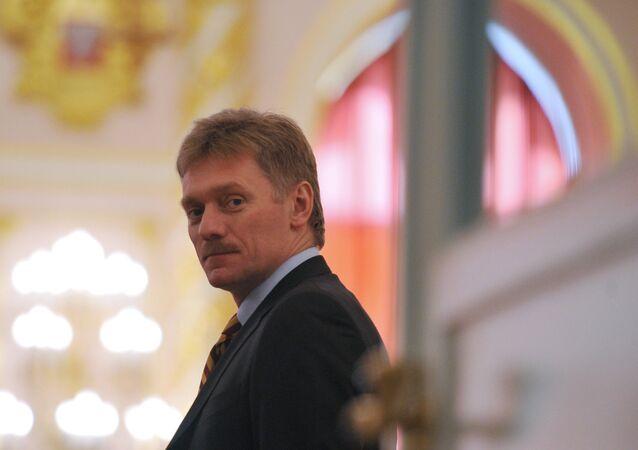 Mluvčí ruského prezidenta Dmitrij Peskov