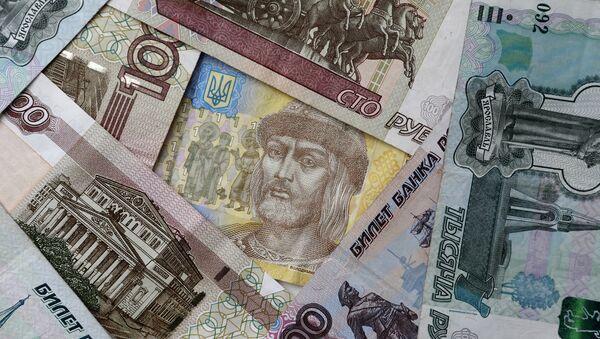 Ruská a ukrajinská měna - Sputnik Česká republika
