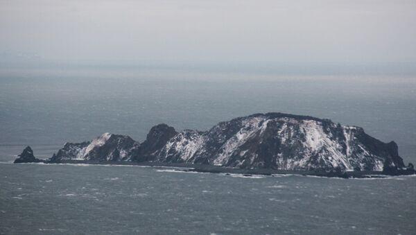 Pátrání po trauleru v Ochotském moři - Sputnik Česká republika