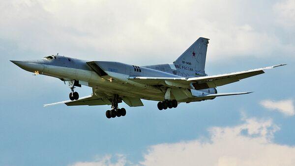 Nadzvukový bombardér Tu-22M3 - Sputnik Česká republika
