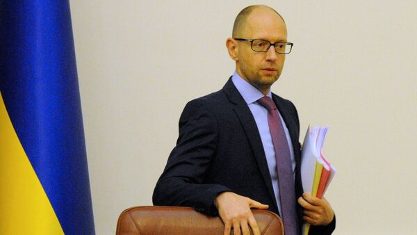Premiér Ukrajiny Arsenij Jaceňuk - Sputnik Česká republika