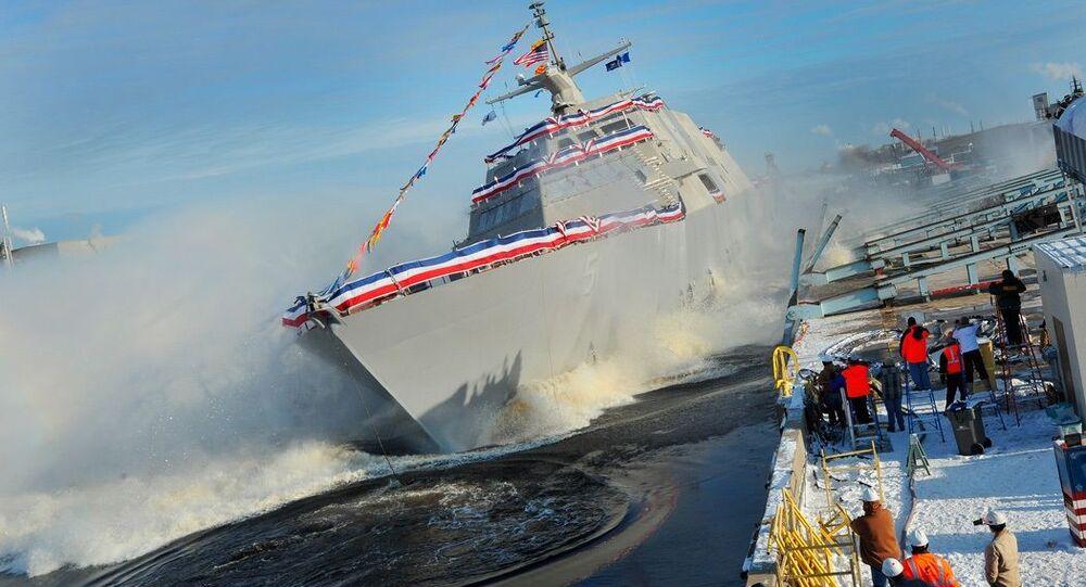 Nejnovější bitevní loď USA USS Milwaukee