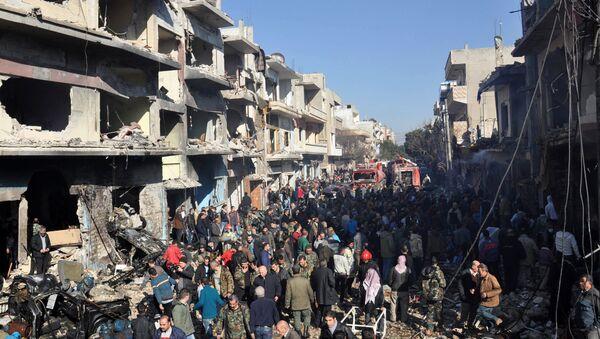Situace v Homsu - Sputnik Česká republika