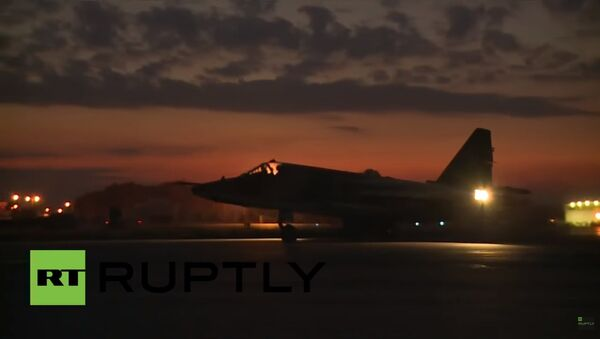Na ruské základně v Sýrii zpozorovali vrtulníky Mi-35 - Sputnik Česká republika