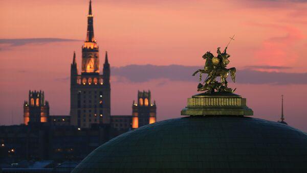 Moskva, náměstí Maněžnaja - Sputnik Česká republika