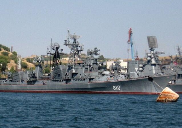 Ruská strážní loď Smetlivyj