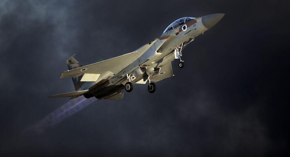 Izraelská stíhačka F-15