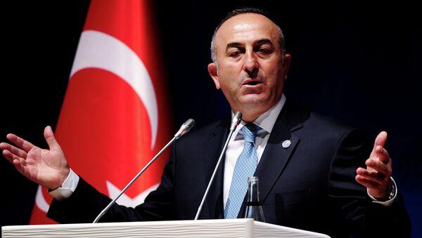 Turecký ministr zahraničních věcí Mevlüt Çavuşoğlu - Sputnik Česká republika