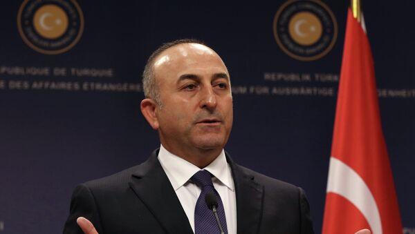 Turecký ministr zahraničních věcí Mevlut Čavušoglu - Sputnik Česká republika