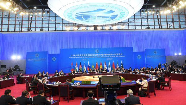Zasedání Rady předsedů vlád členských států ŠOS. Ilustrační foto - Sputnik Česká republika