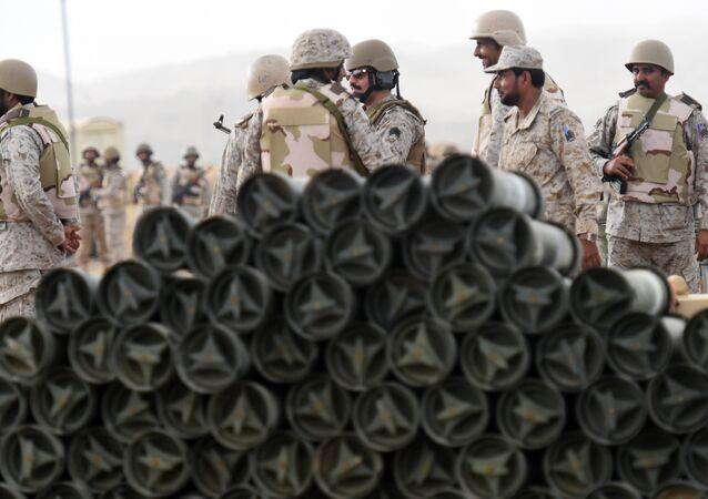 Saúdskoarabští vojáci