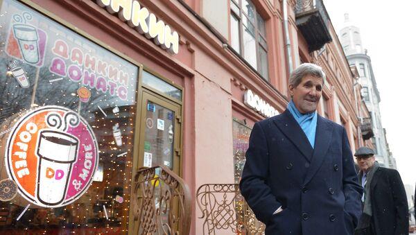 Návštěva Johna Kerryho v Moskvě - Sputnik Česká republika