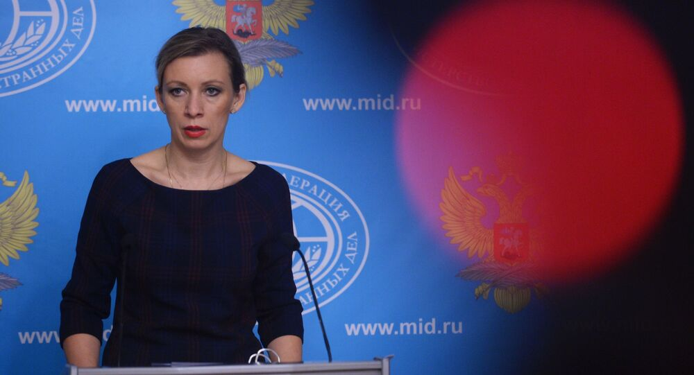Oficiální mluvčí ruského ministerstva zahraničních věcí Maria Zcharovová