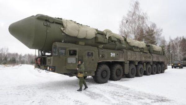 Protiraketový komplex Jars  - Sputnik Česká republika